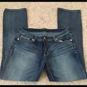 Express Stella  Lowrise Bootcut Jeans 12